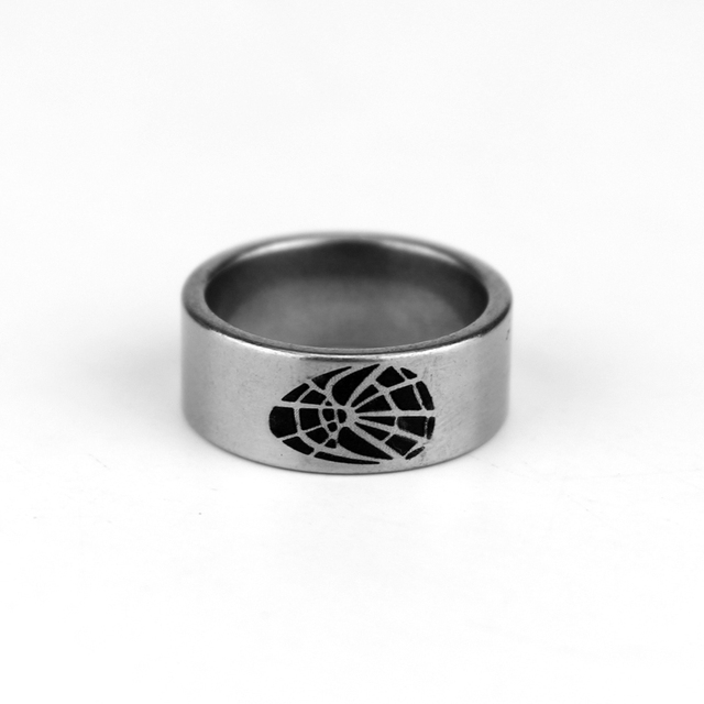 Fine Jewelry Marvel Spiderman Mens Stainless Steel Ring 1Ad86KWelV