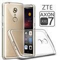 Zte axon 7 7 mini case cubierta ultra delgado de silicona suave tpu transparente case para zte axon 7 7 mini teléfono contraportada case