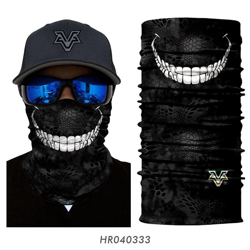Magic Headwear Hoops For Him Outdoor Scarf Headbands Bandana Mask Neck Gaiter Head Wrap Mask Sweatband