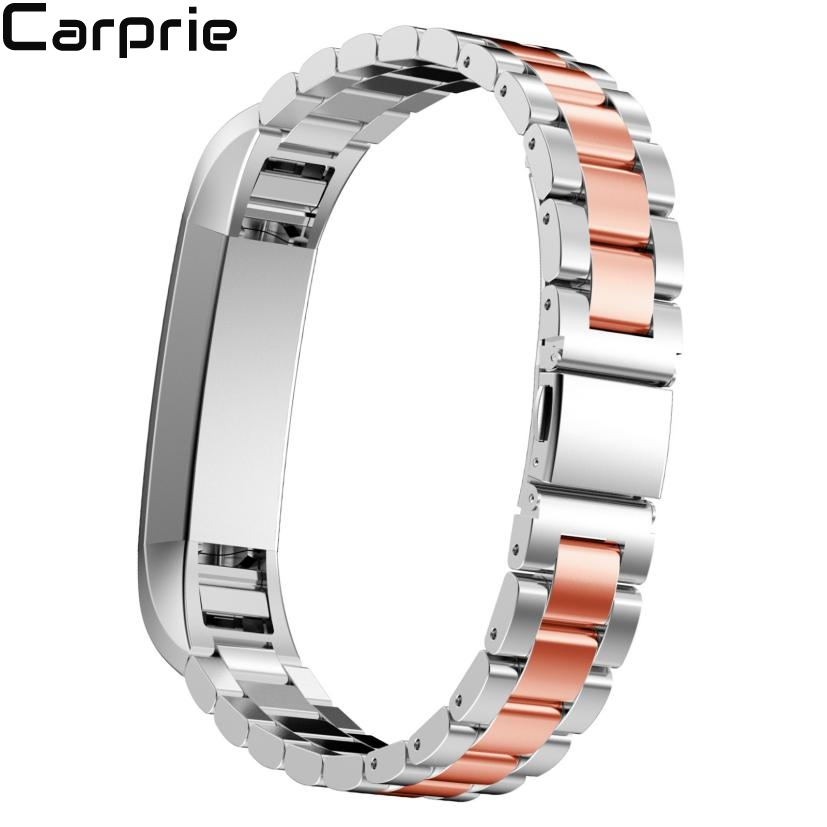 Best price Stainless Steel Watch Band Wrist strap For Fitbit Alta Smart Watch high quality drop shipping DEC22