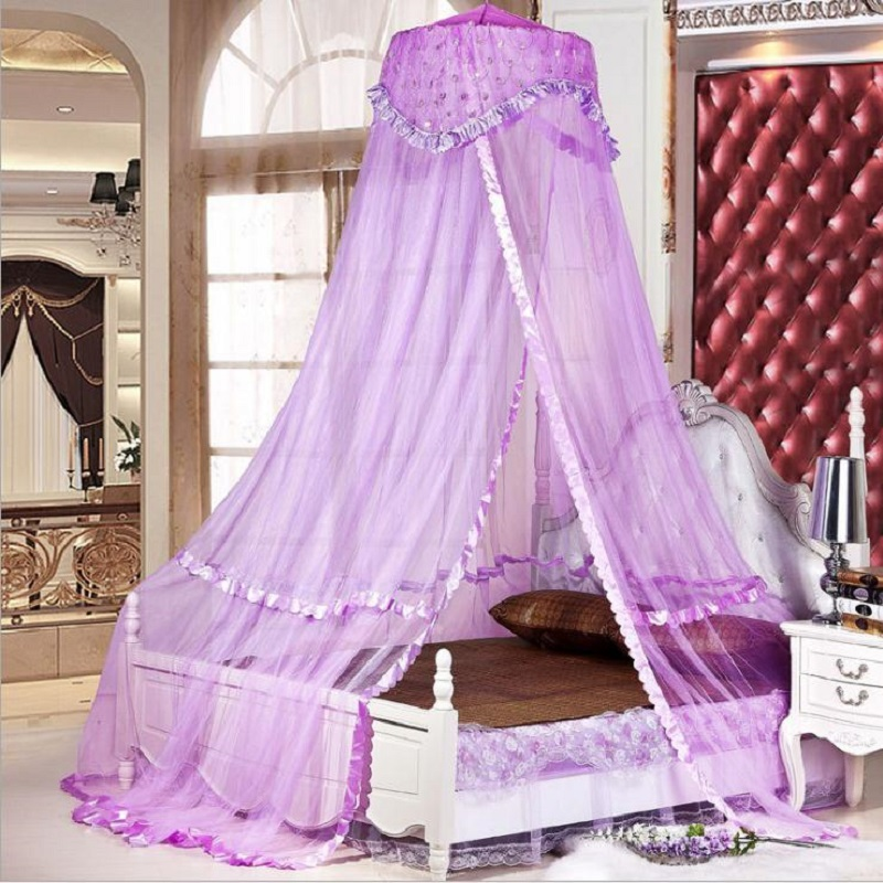 Double Bed Canopy double bed curtains promotion-shop for promotional double bed