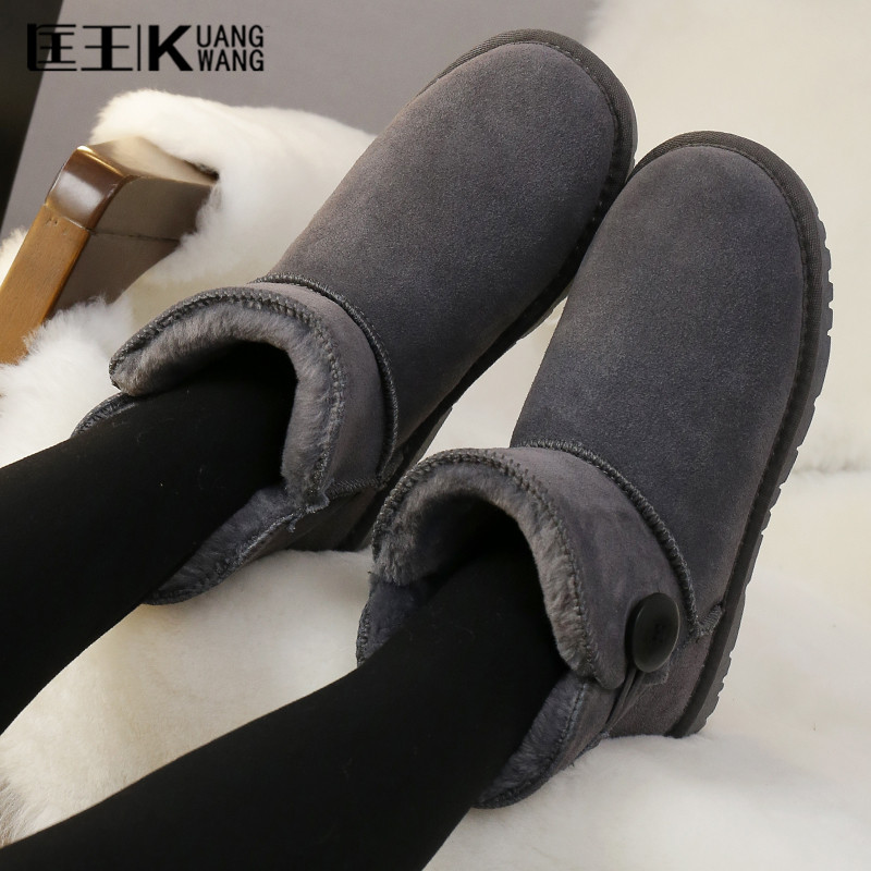 цены  Women's Winter Boots Suede Warm Platform Snow Ankle Boots Women Winter Casual Shoes Round Toe Female Botas Mujer Plus Size 35-42