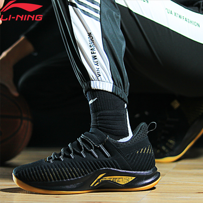 Li-ning hommes vitesse V PLAYOFF professionnel basket-ball chaussures Frank Mason coussin doublure nuage Sport chaussures baskets ABAP011 XYL223