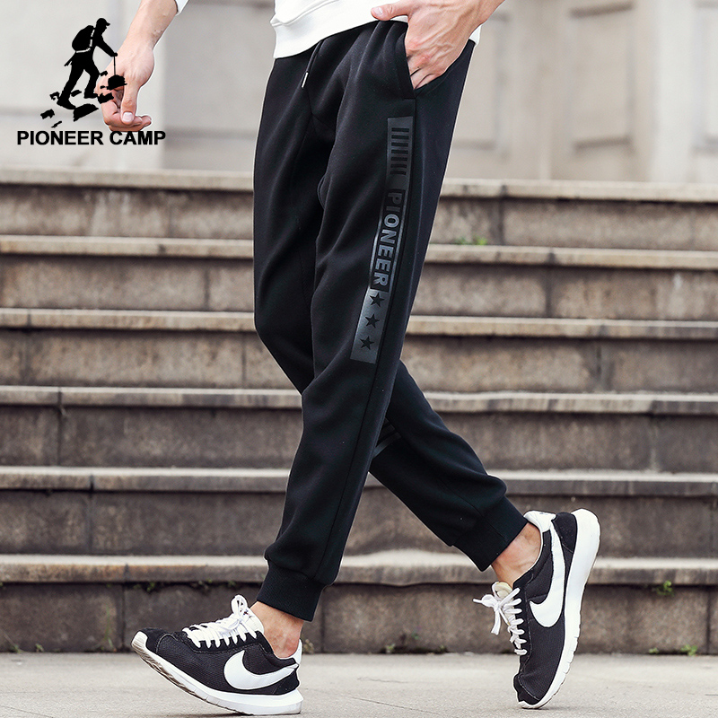 Pioneer Camp new arrival Thin sweatpants men brand clothing casual trousers  male high quality print mens joggers AWK802063