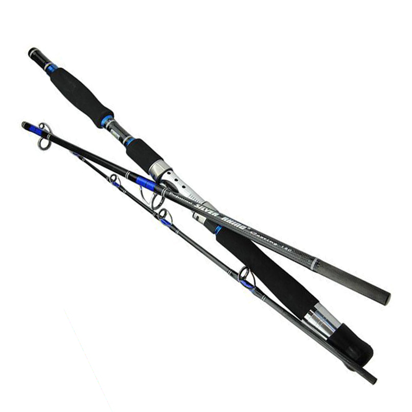 Lure Weight 70-250g 3 Section Boat Jigging Fishing Rod Fast Action Carbon Fiber Saltwater Spinning Surf Fishing Rod Pole hennoy saltwater offshore heavey spinning fishing rod 1 8m 2 section boat spin rod 20 45lb test