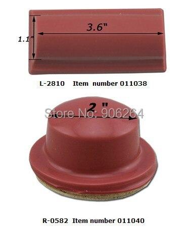 2 pcs Silicone Pad Printing Rubber Head 3.6/2 Pad Print Transfer Printing Head pad printing rubber pad square pad