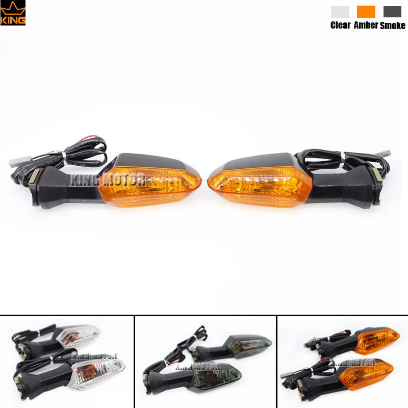 For KAWASAKI Z250 Z250SL Z300 Z750 Z750R ER-6N ER-6F Motorcycle Accessories Front / Rear Turn Signal Indicator Light Amber motorcycle accessories led front rear turn signal indicator light smoke for kawasaki z250 z250sl z300 z750 z750r er 6n er 6f