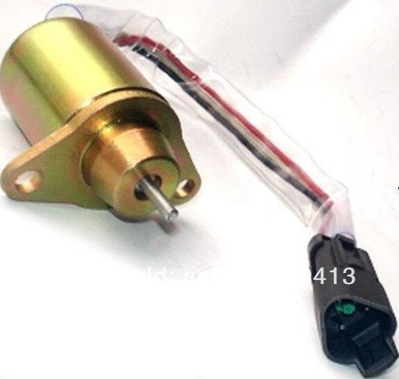 Stop Solenoid For Yanmar 482 / 486 Engine 1503ES-12S5SUC11S SA-4920 SA-4564 SA-4817 wholesale manufacturer engine stop solenoid vavle 0117 7188 3pcs lot