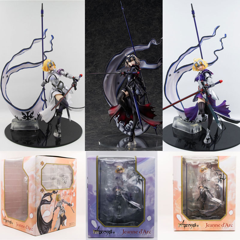 Fate/Apocryphe Fate/Grand Order Ruler Jeanne Joan of Arc PVC Action Figure Doll Collection Toy Model 20cm fate grand order fate apocrypha anime jack the ripper assassin mordred astolfo joan of arc atalanta semiramis rubber keychain