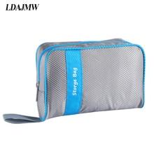 LDAJMW High quality Organizer Bag Multi Functional Make Up Bag Cosmetic Bags Storage Women Men Casual Travel Bag Makeup Handbag