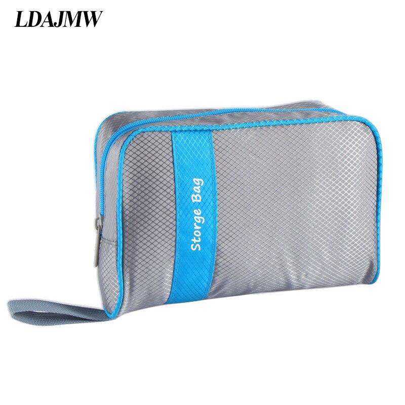 LDAJMW Vysoce kvalitní organizér Bag Multifunkční make up Bag Cosmetic Bags Skladování Ženy Muži Neformální cestovní taška make-up Kabelka