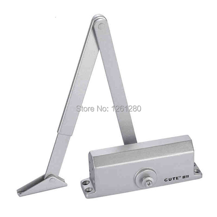 free shipping door closers House Ornamentation Door Hardware Locks Household hydraulic self-closing door spring new automatic door closer mayitr household adjustable stainless steel hotel office surface mounted closing device for hardware