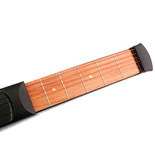 Pocket Guitar Practice Tool Gadget Chord Trainer 6 String 6 Fret Model For Beginner Portable Pocket Acoustic Guitar Accessories