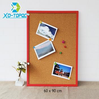 90x60cm Bulletin MDF Wood Frame Cork Board High Quality Message Memo Board Factory Direct Sell Home Decorative Free Accessories