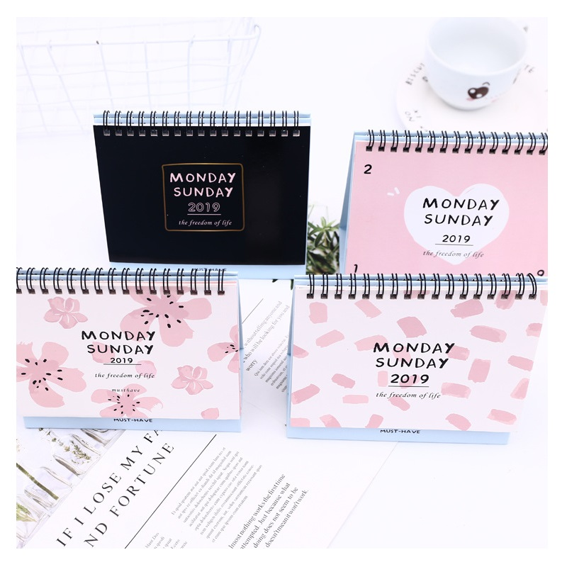 Sporting 2019 Simple Series Perpetual Calendar Diy Desktop Calendar Agenda Organizer Daily Schedule Planner Office & School Supplies