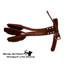 Free Shipping High Quality 1PCS Brown Color Fingerstall For Hand Protection, For Outdoor Archery Sport