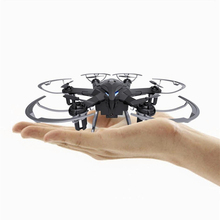 Upgrade Version  I6S 2.4G Radio Control Nano Drone 6 Axis Gyro RC Drone Quadcopter 2MP Camera With LED Light Free shipping