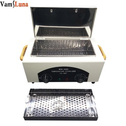 High Temperature Sterilizer For Nail Tools - Hot Air Disinfection With Removable Stainless Steel Tank