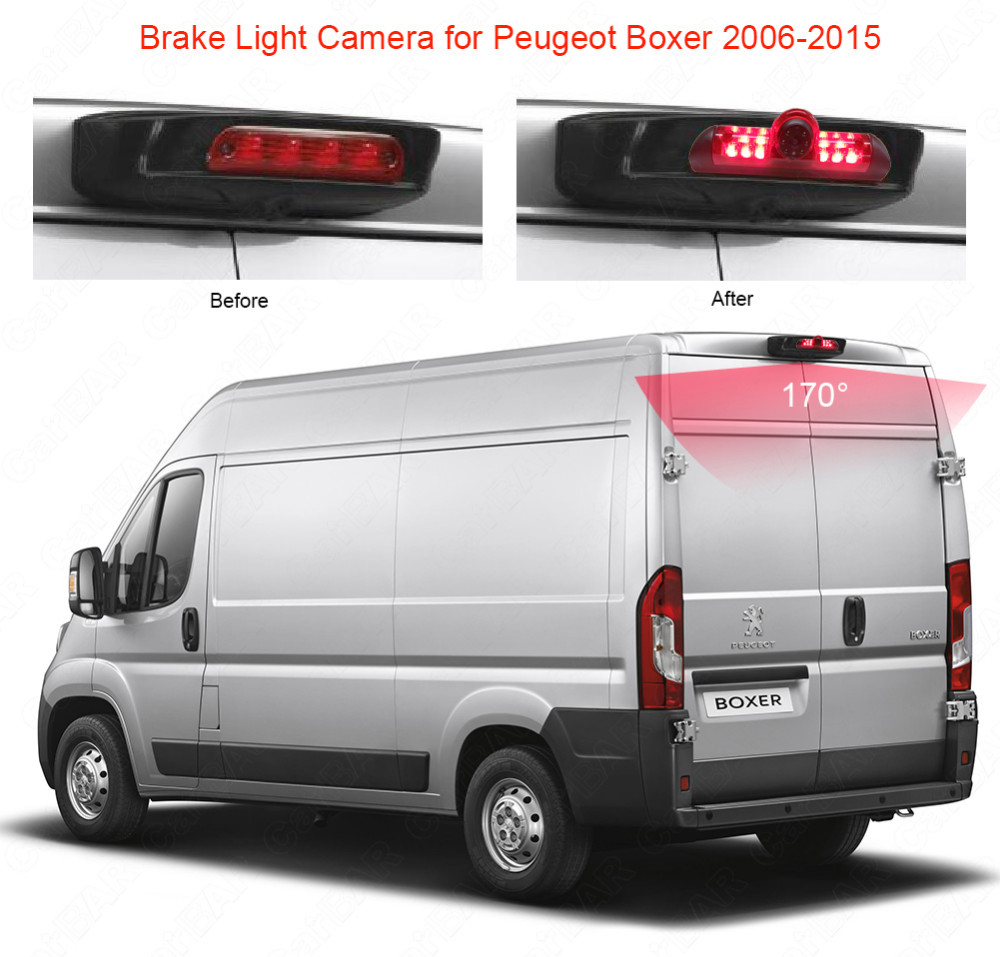 Brake Light Camera for Peugeot Boxer 2006-2015