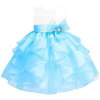 新ブランドベビー女の子dressヴィンテージ赤ちゃん洗礼ドレス大きな弓ガールパーティーdress子供クリスマス服&ウェディング