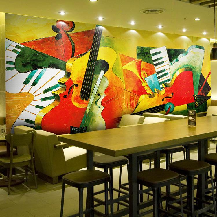 Us 300 Kustom Lukisan Abstrak 3d Wallpaper Sekolah Ktv Hotel Cafe Sofa Tv Latar Belakang 3d Wallpaper Mural In Wallpaper From Perbaikan Rumah On