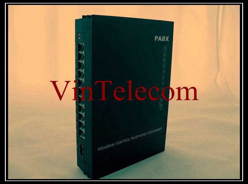 Centralino telefonico PABX MS308 3 linee esterne 8 interni-Spedizione gratuita
