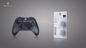 Image 2 - Siliconen Analoge Grips Thumb Stick Caps Cover Voor Xbox One Controller Skull & Co. Fps Master Thumbstick Cover Voor Xbox One Gamepad