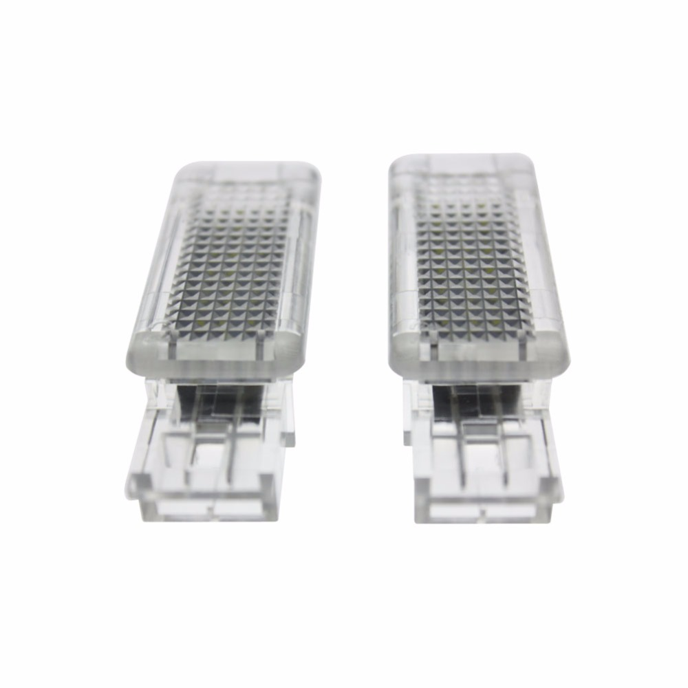 2x Error Free 18 LED Courtesy Door Light Car Lamp Source fit for Mercedes Benz W203 Class SLK GLK W209 R171 SLR W240 VIANO W639