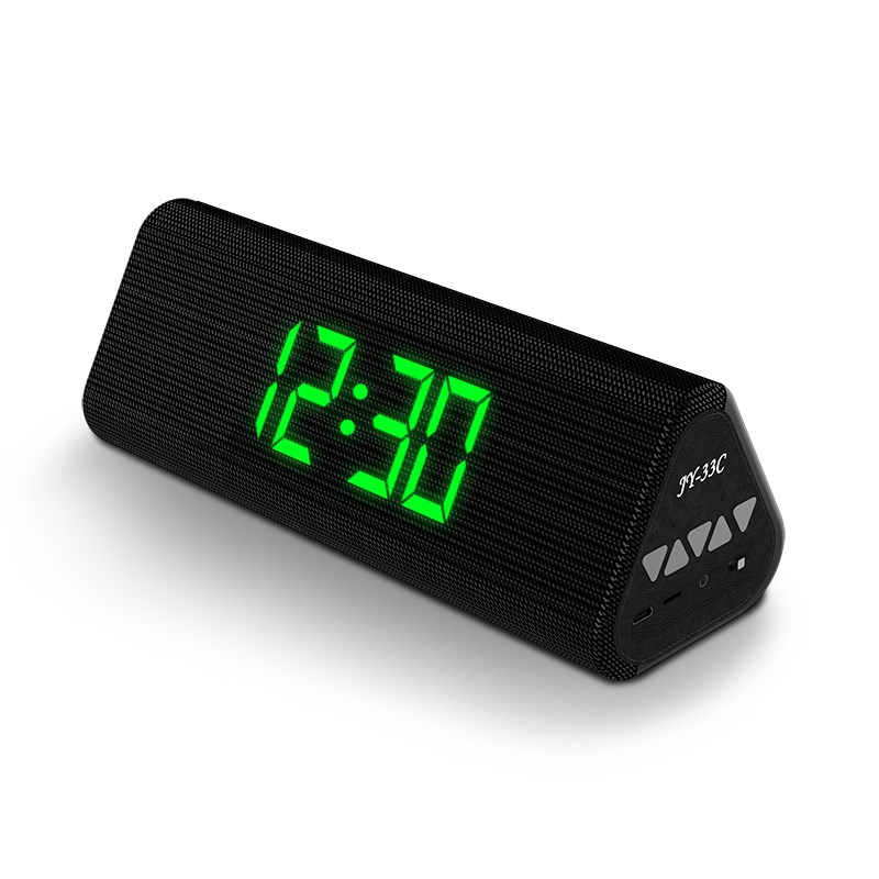 buy electric alarm clok bluetooth speaker with aux tf card play home led. Black Bedroom Furniture Sets. Home Design Ideas