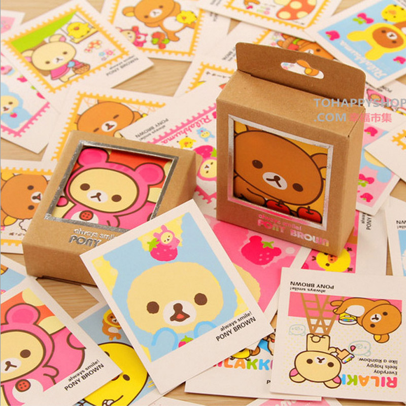 40 pcs/lot Cute bear mini message cards thank you card festival greeting postcard kids gift acupressure spike yoga pillow mat relief health care shakti massager relaxation neck back pain treatment