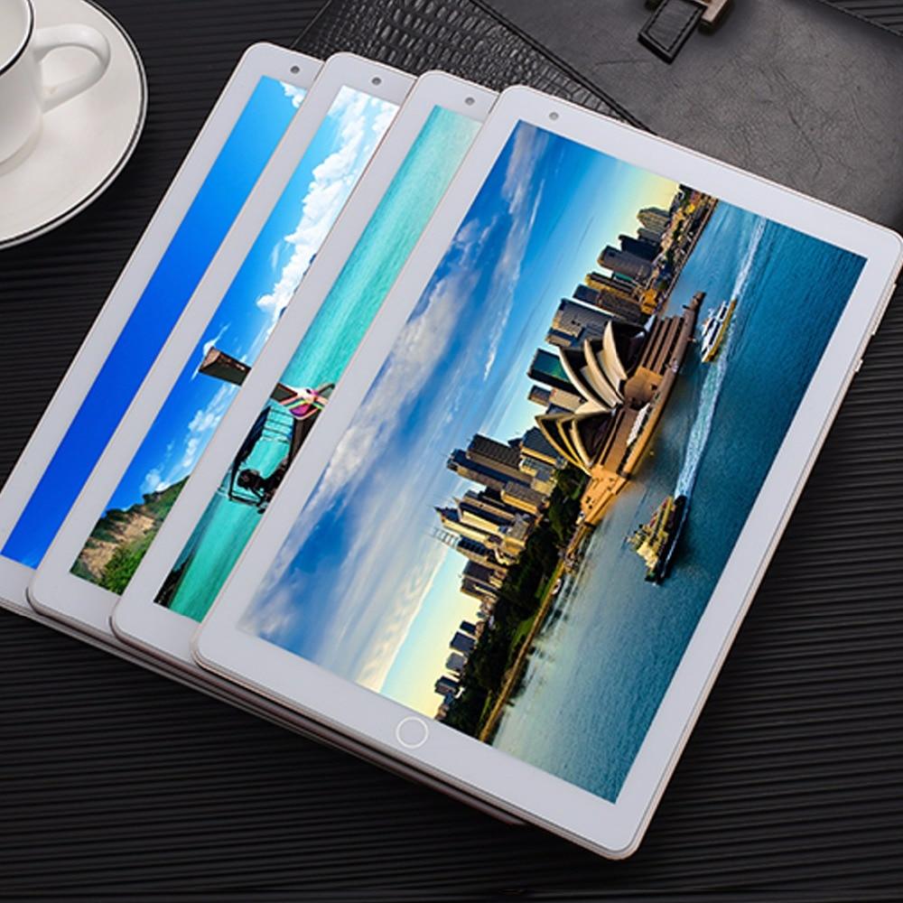 ZONNYOU 10.1 pouces tablette PC 3G appel téléphonique double carte SIM Android 6.0 Octa Core 2 GB Ram32 GB Rom Wifi Bluetooth GPS tablette