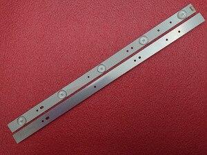 Image 5 - Yeni 8 adet/takım 5LED 405mm LED şerit Polaroid TQL43F4PR001 43E3000 5800 W43001 3P00 E465853 02K03177A RDL430WY RDL430FY