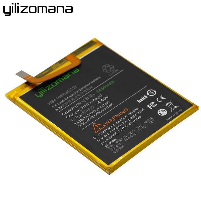 YILIZOMANA Original Phone Battery HB416683ECW 3450mah For Huawei Google Ascend Nexus 6P H1511 H1512 Replacement Phone Batteries