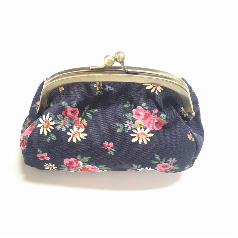 CHIBELLE Fashion Vintage Printed Shoulder Bag Female Small Capacity Casual Canvas Frame Handbag Chain and Hasp Shopping Package in Shoulder Bags from Luggage Bags