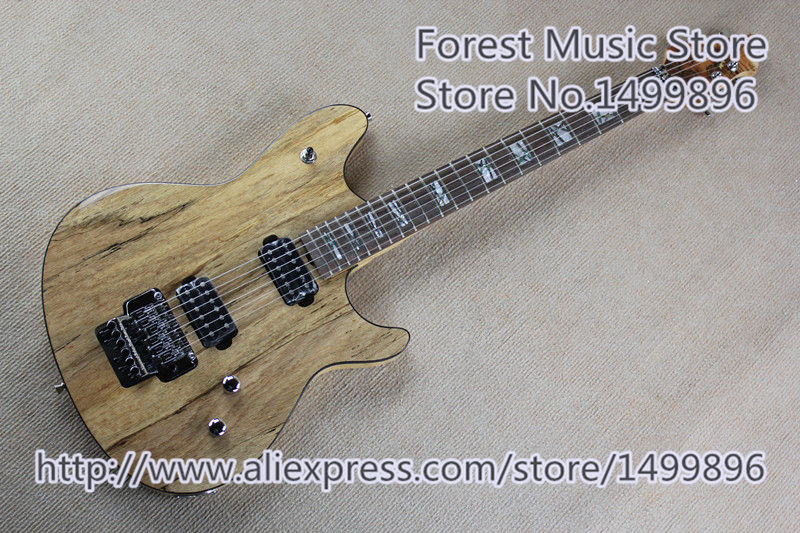 Nature Wood Finish Wolfang Electric Guitars China OEM Chrome Floyd Rose Tremolo In Stock hot selling china quilted finish musicman ax 40 electric guitar with chrome floyd rose tremolo for sale