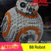 LEPIN 05128 The Double B 8 Robot Set 1238Pcs Star Classic Series Model 75187 Building Blocks