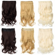 24″ Wavy Clip-In Hair Extensions (17 Colors)