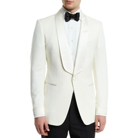 2017 cream IVORY men suits Groom Tuxedos Jacket+Pant Wedding Suit For Mens Fashion Tuxedos wedding party Stage performance