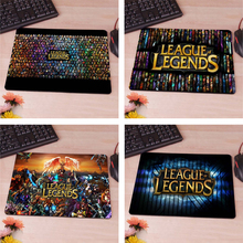 League of Legends Logo Computer Mouse Pad Mousepads Decorate Your Desk Non-Skid Rubber Pad 220mmX180mmX2mm&250mmx290mmx2mm