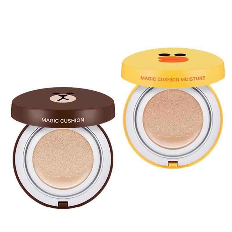 Air Cushion BB Cream Foundation Concealer Face Care Make Up Moisturizing Whitening Bear Korean Makeup Base Bb Face Cream
