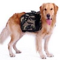 New 2015 Hot Pet Large Dog Bag Carrier Backpack Saddle Bags Camouflage Dog Travel Bag Carriers
