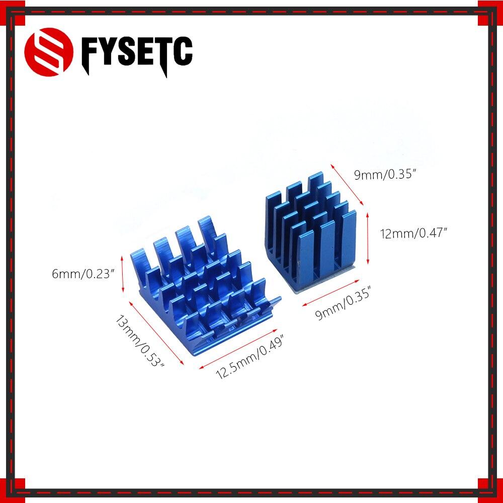 1 Set Of 2pcs Blue Raspberry Pi Heatsinks Cooler Aluminum With Adhesive Heat Sink Set Kit For Cooling Raspberry Pi 3 / 2 Model B