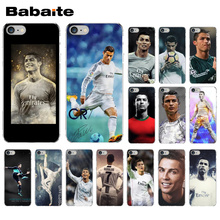 Cristiano Ronaldo CR7 futbol Painted Beautiful Phone Accessories Case for Apple iPhone 8 7 6 6S Plus X XS MAX 5 5S SE XR Cover