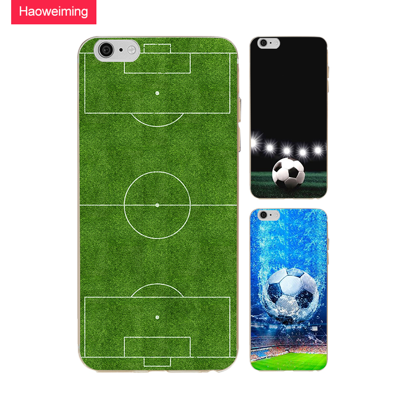 Green Football Field Silicone Soft TPU Case For Huawei P8 P9 P10 P20 Plus Y5 Y7 Y9 Honor 6A 9 10 Nova 2 Mate 9 10 Lite H094