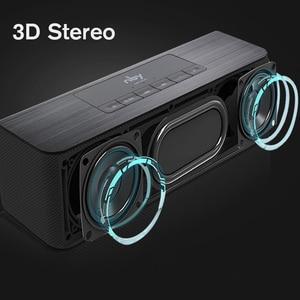 Image 2 - Nby 5540 przenośny głośnik Bluetooth Radio FM bezprzewodowy głośnik niskotonowy głośnik 3D Stereo Boombox dwa głośniki komputer bas TWS