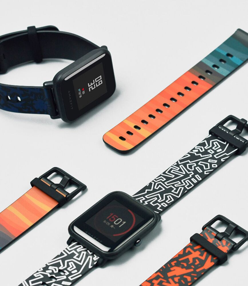 SIKAI New Original 20mm Silicone Watch Band Bracelet For Huami Aamazfit Youth Smartwatch Band For Amazfit Bip Bit Youth Straps sikai universal 20mm stainless steel watch straps bracelets for huami bip bit pace lite youth watch for xiaomi amazfit bit band