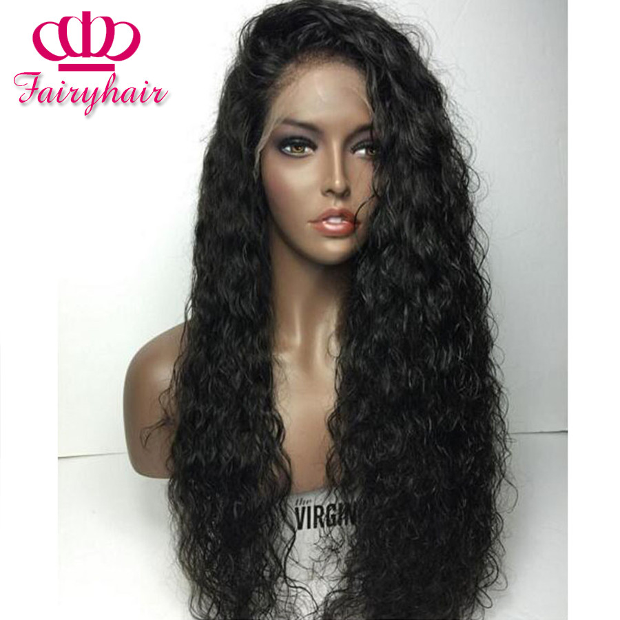 High Density Loose curly synthetic lace front wig glueless black curly wigs heat resistant syntehtic lace front wig for black women1