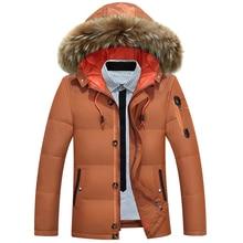 b High Quality Parka Men Winter Long Jacket Men Hooded Thick down Jacket Mens Parka Coat Male Fashion Casual Coats 3XL