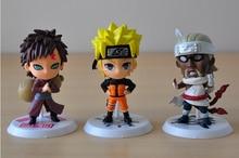Naruto Kakashi Sakura Sasuke Itachi Obito Gaara PVC Toys