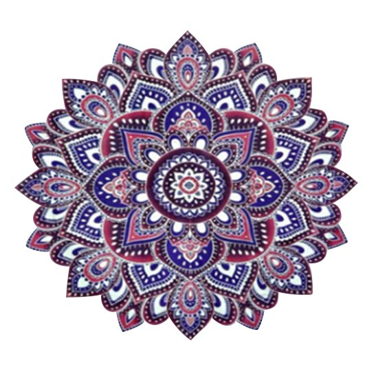 203 153cm Indian Mandala Tapestry Mandragora Floral octagonal printing flowers  Beach Towels Yoga